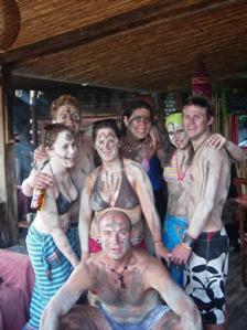 Muddy-backpackers