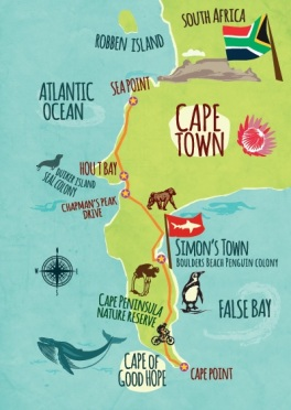 Map Cape Peninsula